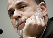 Bernanke at hearing